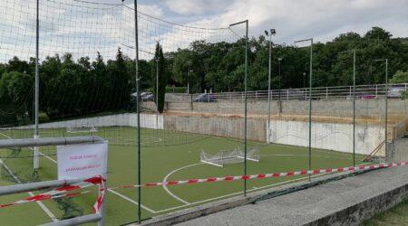 Obavijest o početku izvođenja radova na vanjskim terenima ispred Sportske dvorane Kostrena