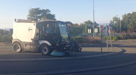 Nova cestovna čistilica na ulicama Općine Kostrena